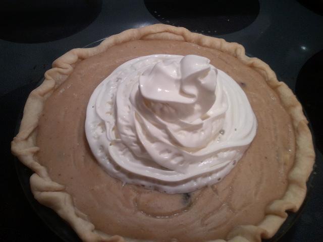 Raisin Cream Pie